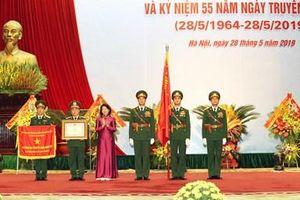 Cục Đối ngoại-Bộ Quốc phòng đón nhận danh hiệu Anh hùng LLVT nhân dân