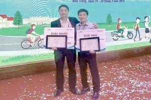 Thầy giáo trường làng đoạt giải Nhất 'ATGT cho nụ cười ngày mai'