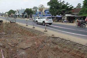 Quảng Ngãi: Nâng cấp Quốc lộ 1A, ba năm chưa xong