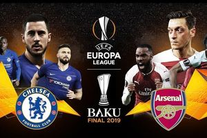 Chung kết Europa League, Chelsea – Arsenal: Eden Hazard đua tài Lacazette (Mới cập nhật)