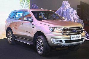 Ford Everest giảm giá sốc tới 130 triệu tại Việt Nam?