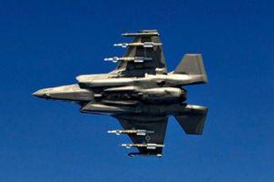 Máy bay chiến đấu F-35A của Mỹ được phát hiện gần biên giới Iran khi đang ở 'chế độ quái thú'