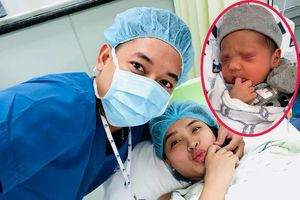 Hải Băng công khai hình ảnh con trai mới chào đời