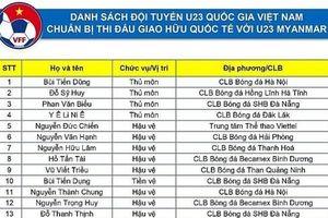 Danh sách tập trung của U23 Việt Nam: Lần đầu cho cầu thủ Việt kiều Martin Lo