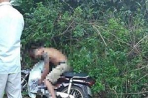 Hòa Bình: Nam thanh niên tử vong trên xe máy bên vệ đường