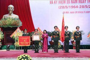 Cục Đối ngoại Bộ Quốc phòng đón nhận danh hiệu Anh hùng Lực lượng vũ trang nhân dân