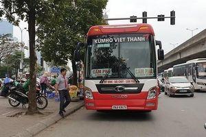 Xử lý tình trạng nhà xe Kumho Việt Thanh đón, trả khách trái quy định