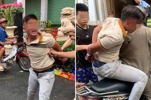 Cướp giật bị tóm gọn, thủ phạm còn nhờ vả kéo hộ quần khiến nhiều người ngán ngẩm
