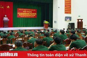 Đảng ủy Quân sự tỉnh sơ kết 5 năm thực hiện Cuộc vận động 'Phát huy truyền thống, cống hiến tài năng, xứng danh Bộ đội Cụ Hồ'