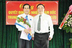 Bổ nhiệm Giám đốc Trung tâm y tế huyện Vĩnh Cửu