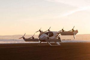 Tiết lộ hình ảnh taxi bay 'hoành tráng' của Airbus