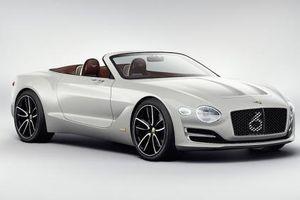 Bentley Centenary Concept độc nhất sẽ được trình làng vào tháng 7 năm nay