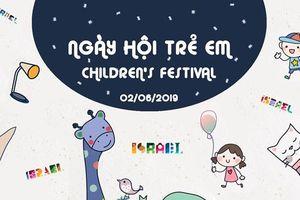 Ngày hội đặc biệt cho trẻ em vui chơi, sáng tạo theo phong cách Israel