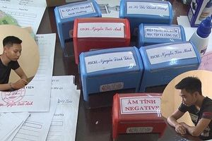 Làm giả giấy tờ của Bệnh viện Bạch Mai rồi rao bán trên mạng