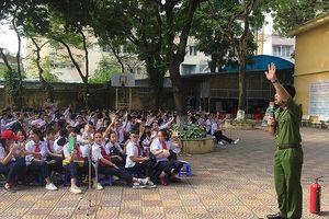 Công an Hà Nội triển khai Tháng hành động vì trẻ em