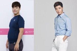 Nam ca sĩ Hàn giảm 9 kg trong 20 ngày