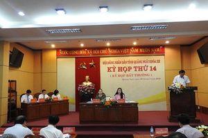 HĐND tỉnh Quảng Ngãi họp bất thường thông qua nhiều nội dung quan trọng