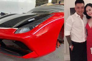 Tuấn Hưng tiết lộ tình trạng siêu xe 16 tỷ vỡ nát đầu sau nửa năm 'đắp chiếu'