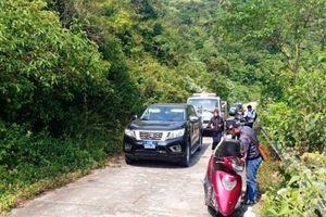 Khuyến cáo du khách không đi xe tay ga lên bán đảo Sơn Trà