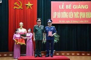 Học viện Quốc phòng bế giảng lớp bồi dưỡng kiến thức Quốc phòng An ninh khóa 75