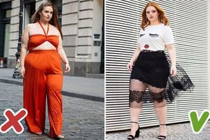 7 kiểu trang phục tối kỵ với những cô nàng thừa cân