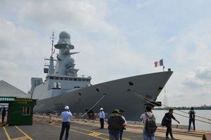 Tàu hộ tống phòng không của Hải quân Pháp lần đầu thăm TP. Hồ Chí Minh
