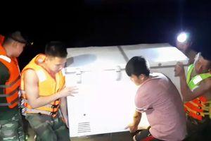 Đồn Biên phòng Đàm Thủy giúp dân sơ tán tránh lũ