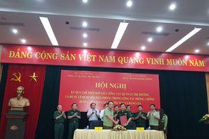 Tổng cục QLTT và Bộ tư lệnh Bộ đội biên phòng ký quy chế phối hợp