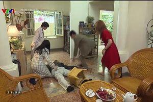 Về nhà đi con tập 34: Ánh Dương tặng ngay cú đá khiến anh rể say xỉn lăn ra