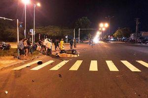 Nam thanh niên tử vong sau va chạm với xe khách giữa đêm