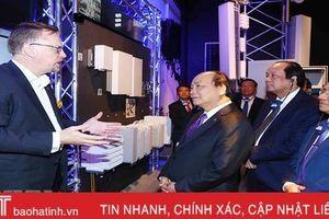 Bí thư Tỉnh ủy Hà Tĩnh kết thúc tốt đẹp chuyến thăm 3 nước châu Âu