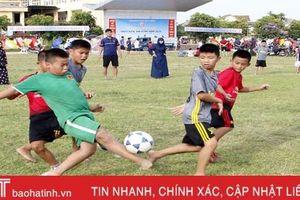 Khởi tranh Giải Bóng đá Thiếu niên - Nhi đồng TP Hà Tĩnh