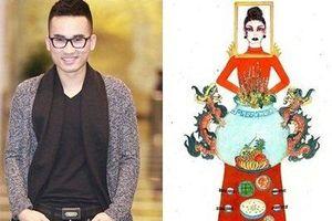 NTK Hà Duy nói về trang phục 'Bàn thờ': 'Không nên đưa biểu tượng tâm linh lên quần áo'