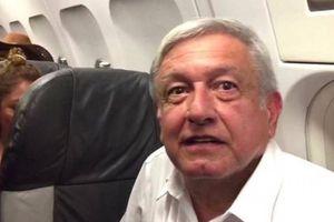 Máy bay chở tổng thống Mexico phải bay vòng thực hiện hạ cánh lần 2