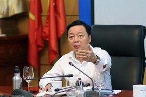 Bộ trưởng Trần Hồng Hà: Thủ trưởng các đơn vị cần quyết tâm mạnh mẽ hơn nữa để hoàn thành nhiệm vụ Chính phủ giao