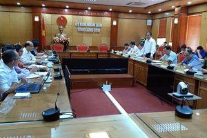 Tổng cục Môi trường làm việc với tỉnh Lạng Sơn về quản lý nhập khẩu, buôn bán tôm hùm nước ngọt