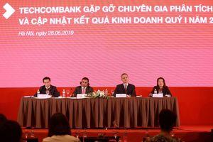 Techcombank ghi nhận tăng trưởng doanh thu trong 14 quý liên tiếp
