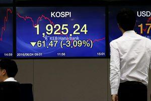 Chứng khoán Hàn Quốc 'vạ lây' chiến tranh thương mại Mỹ-Trung