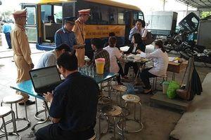 Hà Nội: Gần 8.000 doanh nghiệp vận tải chây ì không kiểm tra sức khỏe lái xe