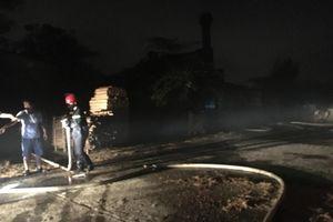 Quảng Nam: Cháy hai phòng học trong trường do chập điện