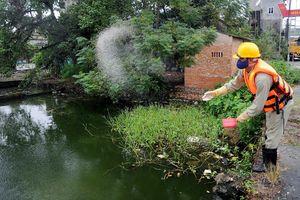Hà Nội yêu cầu thanh tra toàn diện về chế phẩm làm sạch hồ