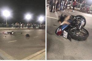4 thanh niên thương vong sau cú tông trực diện của 2 xe máy trên cầu