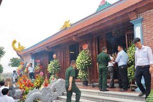 Khánh thành đền thờ Chủ tịch Hồ Chí Minh tại Bảo tàng Xi-măng Việt Nam