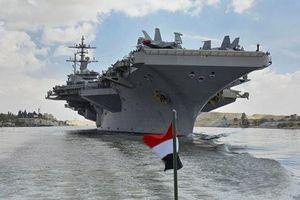 Tướng Iran tuyên bố 'không ngán' tàu sân bay Mỹ