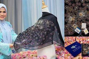 Tận mục chiếc khăn trùm đầu đắt nhất thế giới, giá ngang chiếc Kia Morning
