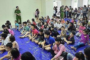 Công an TP Hà Nội chung tay hành động vì trẻ em