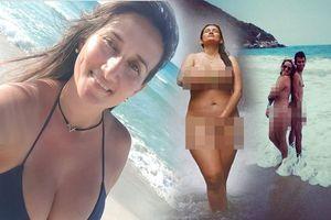 Chụp ảnh khỏa thân phản cảm khắp nơi, blogger du lịch gây phẫn nộ