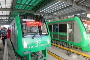 Bộ Giao thông lại 'hứa' tiến độ dự án đường sắt Cát Linh-Hà Đông