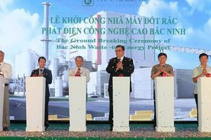 Bắc Ninh xây nhà máy đốt rác phát điện trị giá 1.357 tỷ đồng