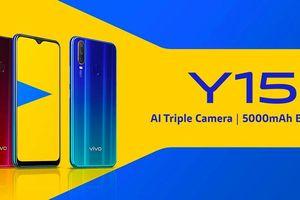 Vivo Y15 ra mắt: ba camera phía sau, pin 5.000mAh, giá 200 USD